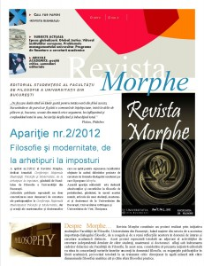 Newsletter, Morphe septembrie 2013 1